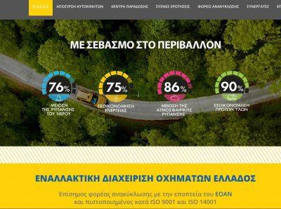Ανανεωμένη online παρουσία της Ε.Δ.Ο.Ε. επίσημου φορέα ανακύκλωσης I.X στην Ελλάδα