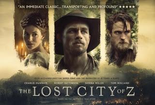 The Lost City of Z – Η χαμένη πόλη του Ζ, Πρεμιέρα: Ιούνιος 2017 (trailer)