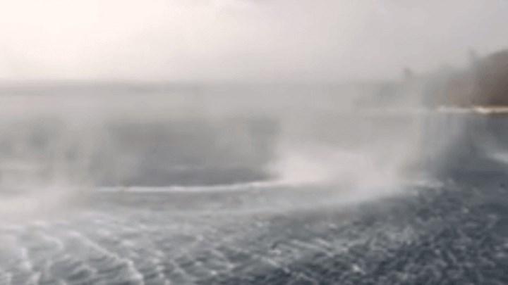 Κέρκυρα: Δείτε το βίντεο με την τεράστια ρουφήχτρα που έγινε viral