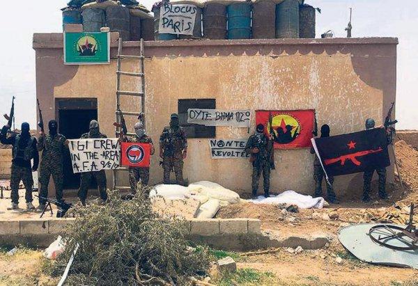 Έλληνες αναρχικοί πολεμούν τους τζιχαντιστές στη Συρία (ΦΩΤΟ)