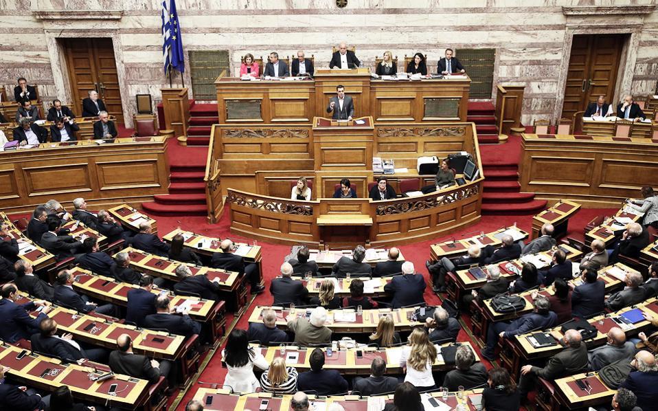 Στις 18 Μαΐου η ψήφιση των μέτρων στη Βουλή