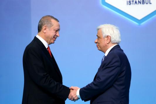 Ακυρώθηκε η συνάντηση Παυλόπουλου-Ερντογάν