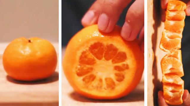 Σε ολόκληρη τη Ζωή σας Κόβετε τα Πορτοκάλια με ΛΑΘΟΣ τρόπο. Να πως είναι ο ΣΩΣΤΟΣ!