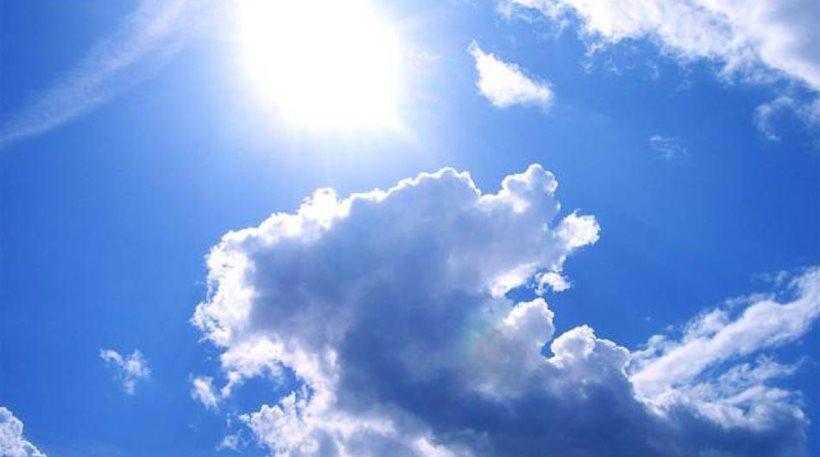 Φτιάχνει ο καιρός σήμερα: Ηλιοφάνεια με λίγες νεφώσεις