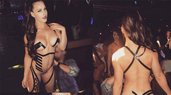 Νέα προκλητική «μόδα»: Βγαίνουν για clubbing φορώντας μόνο… μονωτική ταινία (φωτό)