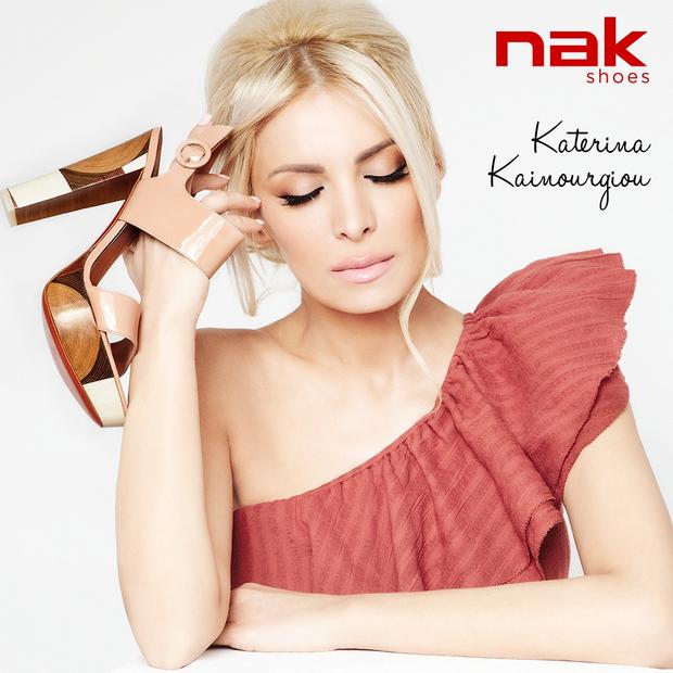 Νew Campaign Alert: Katerina Kainourgiou for NAK Shoes