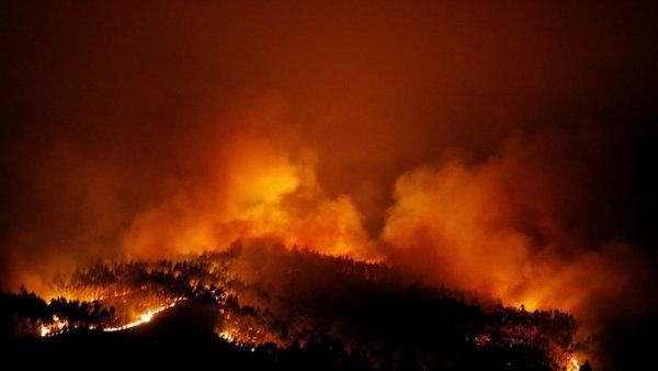 Δεκάδες νεκροί και τραυματίες από πυρκαγιά στην Πορτογαλία (BINTEO)