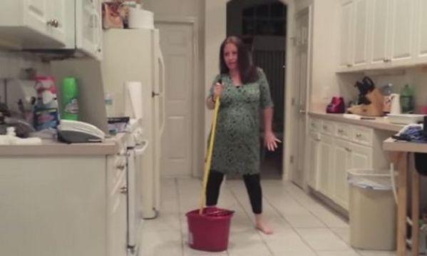 Δείτε τι συνέβη τη στιγμή που αυτός ο άνδρας βιντεοσκοπούσε την έγκυο γυναίκα του!
