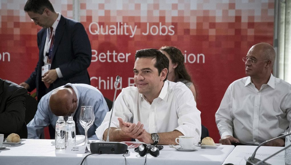 Τσίπρας: Προτεραιότητα για τις προοδευτικές δυνάμεις η κοινωνική Ευρώπη