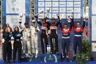 Ράλι Ακρόπολις : Νικητές Καγιετάνοβιτς-Μπαράν με Ford Fiesta R5