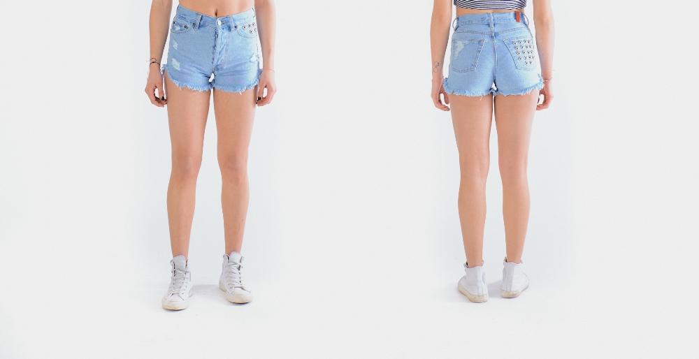 Η Αθηνά Οικονομάκου φόρεσε το jean shorts που θέλουμε όλες τώρα!