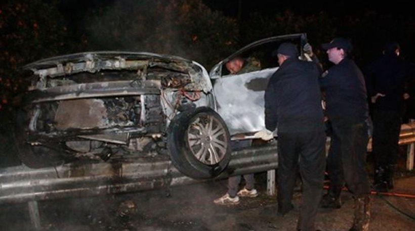 Τραγικός θάνατος 44χρονου στη Βοιωτία: Εγκλωβίστηκε και απανθρακώθηκε στο αυτοκίνητό του