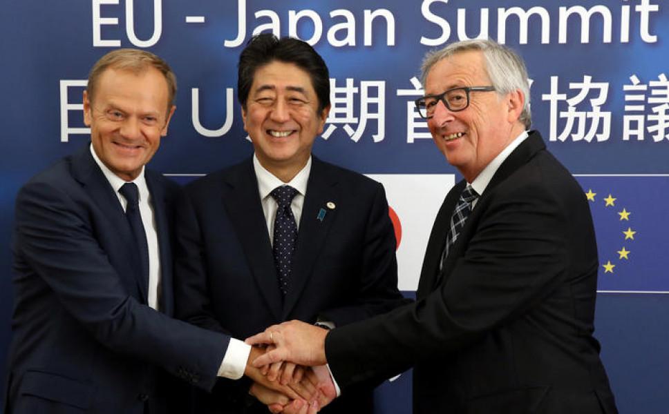 Κατ' αρχήν συμφωνία ελεύθερου εμπορίου μεταξύ ΕΕ – Ιαπωνίας