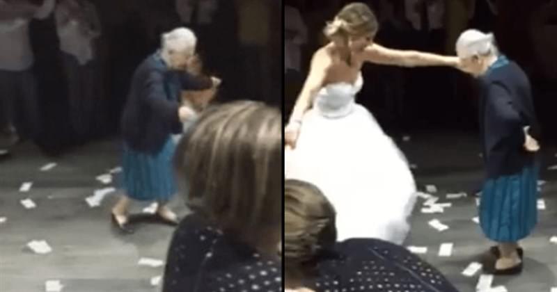 98χρονη Ελληνίδα γιαγιά έκανε θραύση στον γάμο της εγγονής της στο εξωτερικό