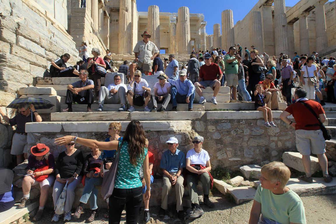 Πάνω από 4,5 εκατομμύρια οι τουρίστες στο πρώτο πεντάμηνο του 2017