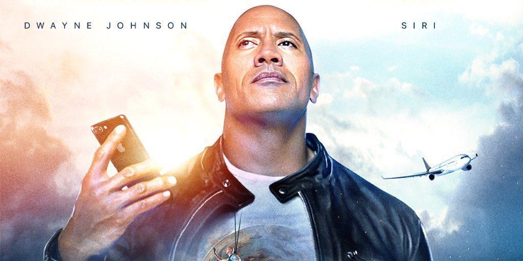Ο Dwayne 'The Rock' Johnson συναντά τη Siri [βίντεο]