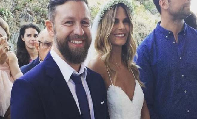 Ο Γιάννης Βαρδής παντρεύτηκε τη Νατάσα Σκαφιδά στη Λήμνο [Εικόνες]