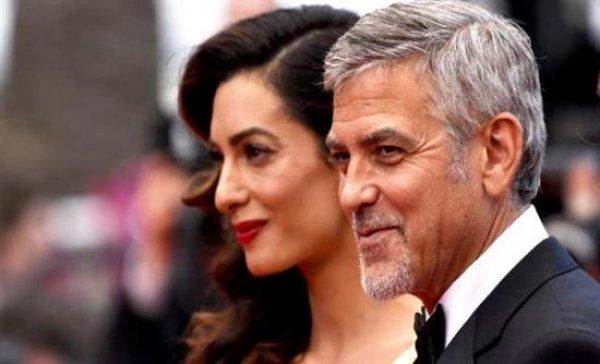 Οι πρώτες φωτογραφίες του George Clooney και της Amal μαζί με τα δίδυμα