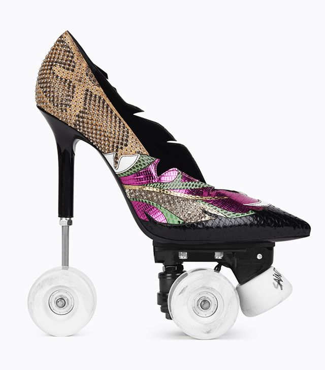 Tα παπούτσια της σεζόν είναι roller skates και stilettos… μαζί!