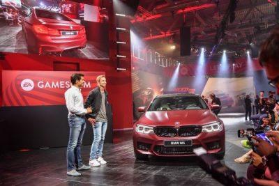 Το ντεμπούτο της νέας BMW M5 στο Need for Speed Payback