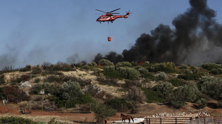 Νέα πυρκαγιά στο Λαγονήσι – Εκκενώνονται σπίτια