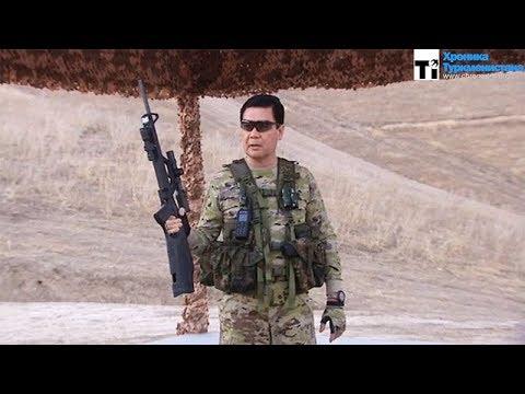 Ο πρόεδρος του Τουρκμενιστάν γίνεται «Κομάντο – Σβαρτσενέγκερ» [επικό βίντεο]