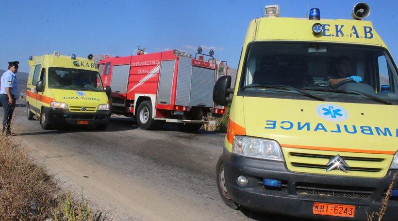 Χαλκιδική: Τροχαίο δυστύχημα με έναν νεκρό και τρεις τραυματίες