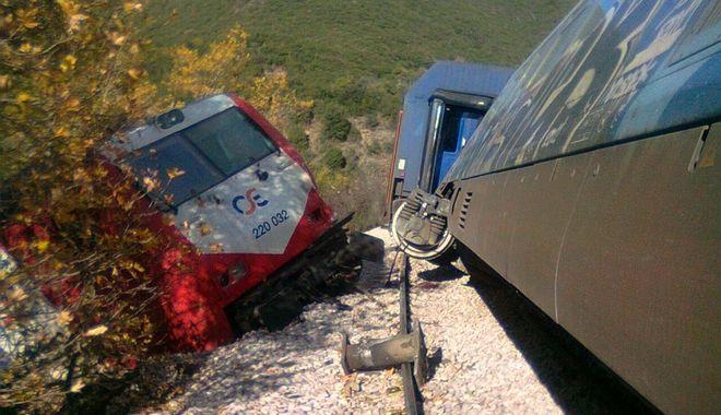 Εκτροχιάστηκε τρένο έξω από τον Δομοκό – Κλειστή η σιδηροδρομική γραμμή