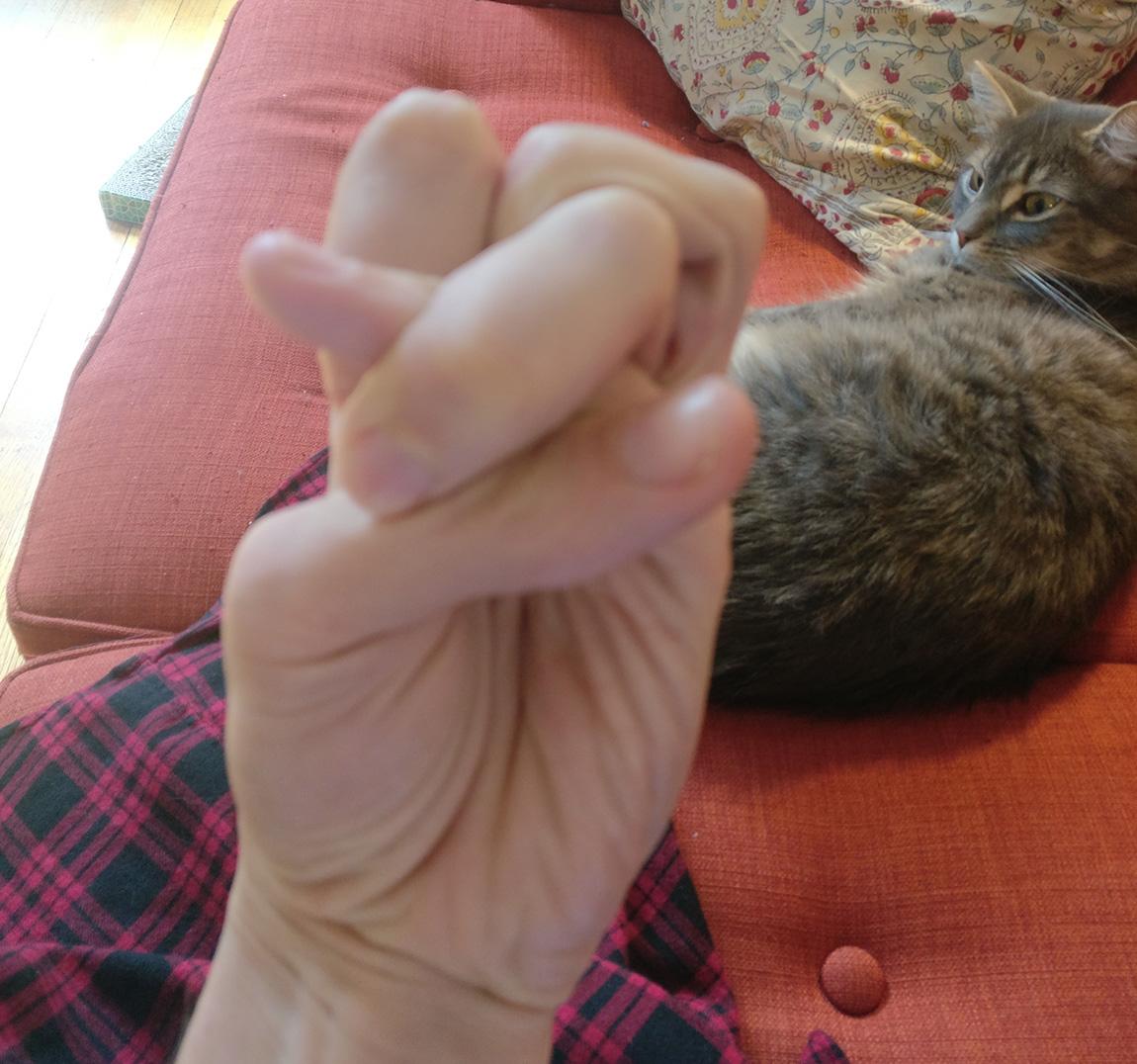 Κάνε κόμπο τα δάχτυλά σου: Η διαδικτυακή πρόκληση που έγινε viral (εικόνες)