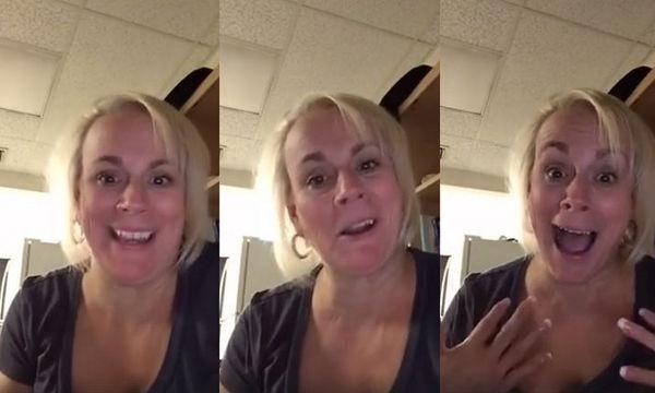 Ο γιος της δεν απαντούσε στο τηλέφωνο, έτσι αποφάσισε να του στείλει ένα βίντεο-μήνυμα και έγινε viral!