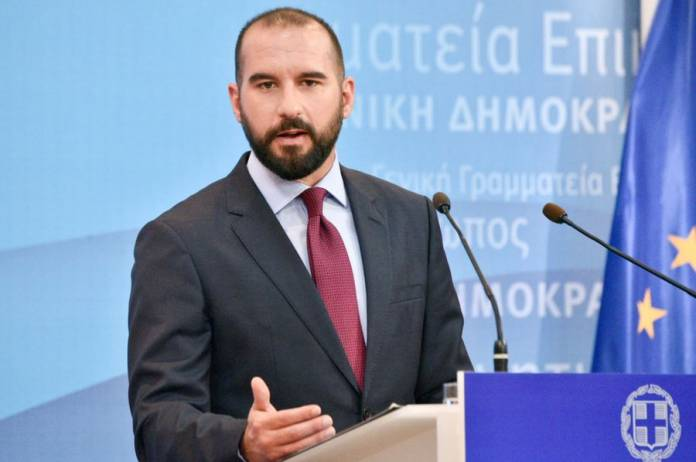 """Τζανακόπουλος: Η ΝΔ εκφράζει τον παρωχημένο εθνικισμό του """"Πατρίς – Θρησκεία – Οικογένεια"""""""
