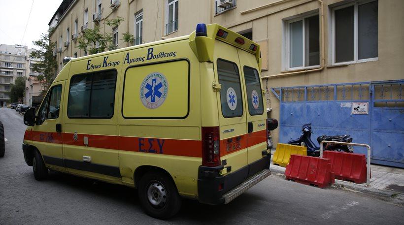 45χρονη έπεσε από μπαλκόνι τετάρτου ορόφου στη Θεσσαλονίκη