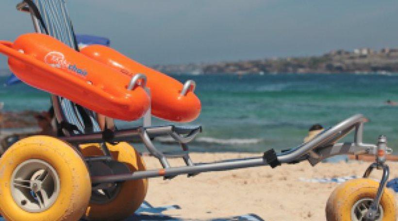 Χαλκιδική: Πλωτά αμαξίδια ΑμεΑ σε παραλίες του Δήμου Σιθωνίας