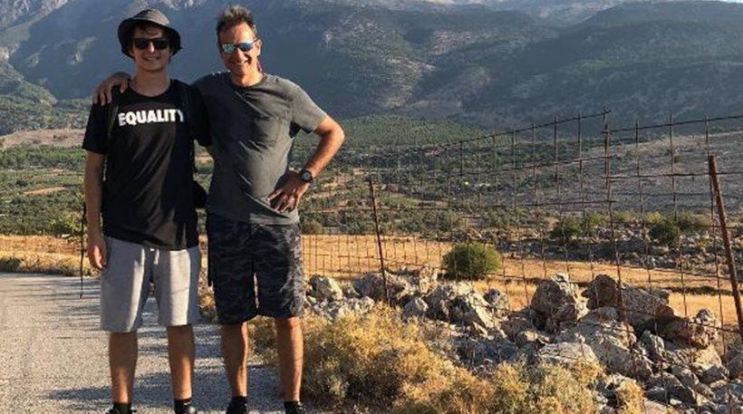 Πεζοπορία στα Σφακιά για τον Κυριάκο Μητσοτάκη και τον γιο του