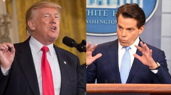 Δήλωση-«βόμβα» Σκαραμούτσι: Συνωμότες μέσα στον Λευκό Οίκο θέλουν να «ρίξουν» τον Τραμπ