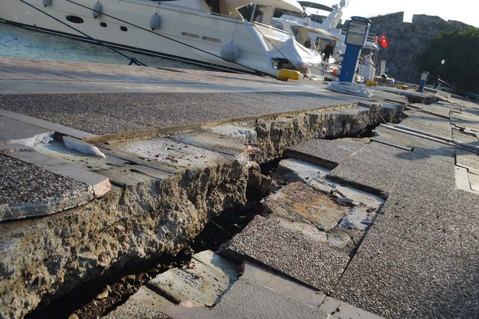 Στα 95 εκατ. ευρώ οι ζημιές από το σεισμό στην Κω