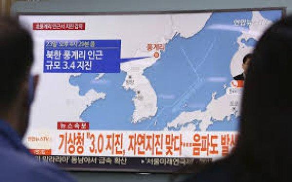 Β.Κορέα: Η σεισμική δόνηση πιθανότατα μετασεισμός της πυρηνικής δοκιμής