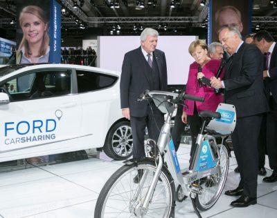 Love the Road again με ποδήλατο από τη Ford