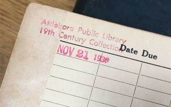 Βιβλίο επεστράφη σε βιβλιοθήκη με καθυστέρηση περίπου 80 ετών!