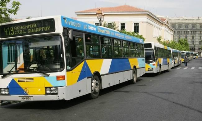 Χωρίς λεωφορεία και τρόλεϊ η Αθήνα από τις 11.00 έως τις 17.00