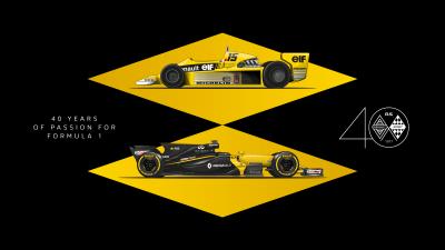Η Renault γιορτάζει 40 χρόνια στην F1