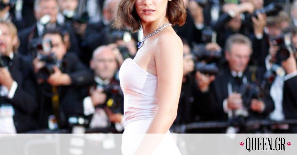 H Bella Hadid «έπαθε» Liz Hurley στα γενέθλιά της
