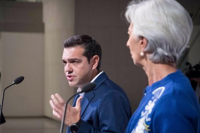 """Τσίπρας – Λαγκάρντ: """"Συμμαχία"""" για το χρέος και την αξιολόγηση"""
