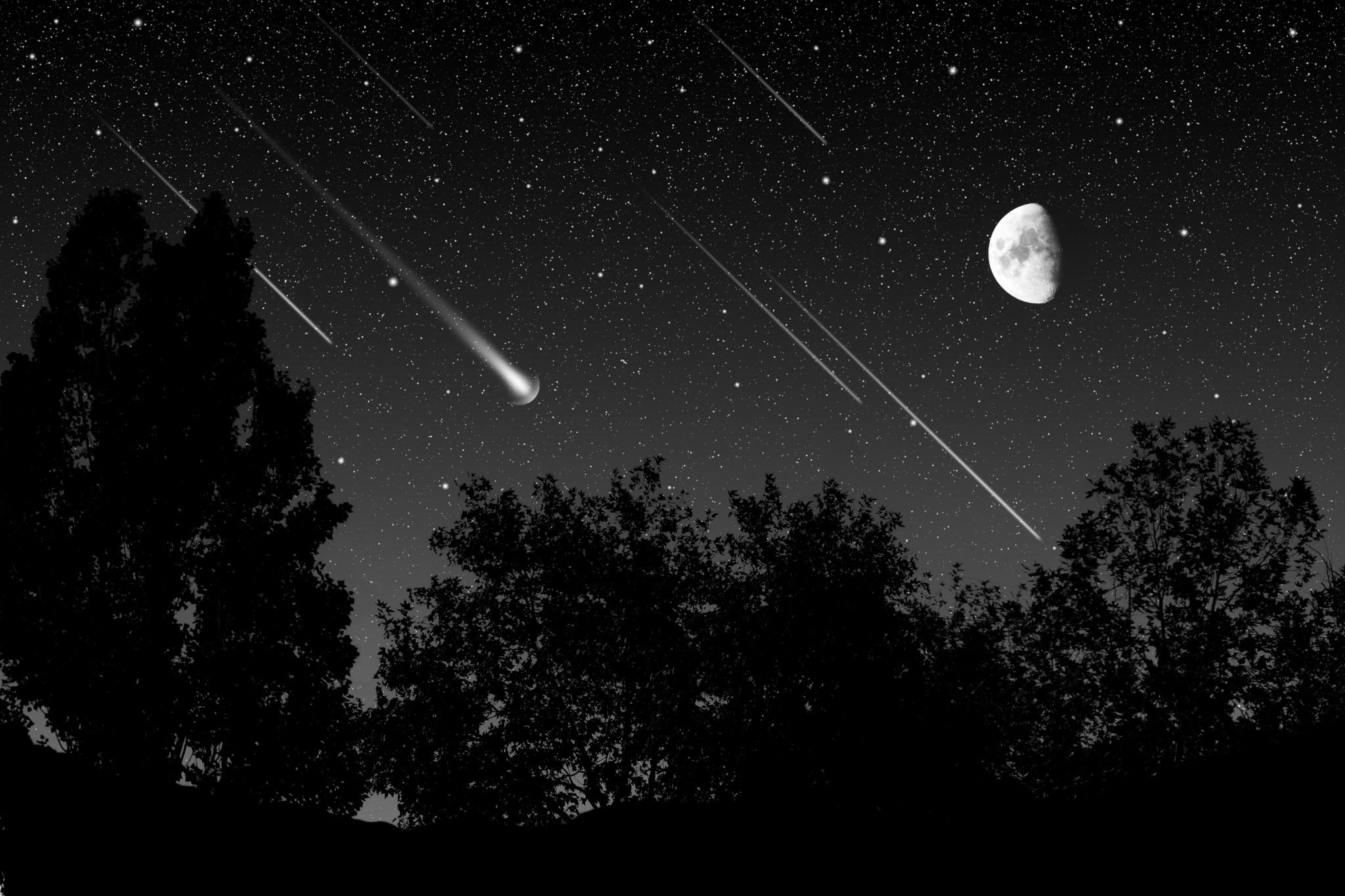 """""""Βροχή"""" αστεριών το βράδυ της Παρασκευής"""