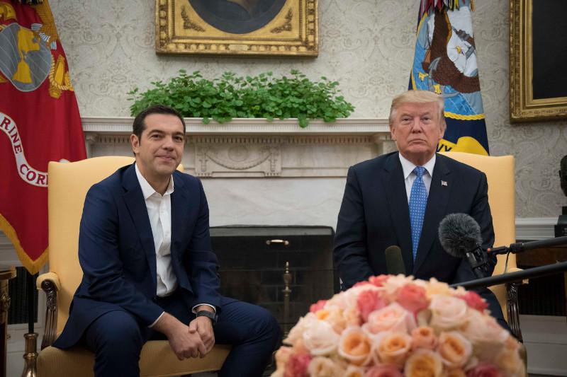 Τα διεθνή ΜΜΕ για τη συνάντηση Τσίπρα – Τραμπ στον Λευκό Οίκο