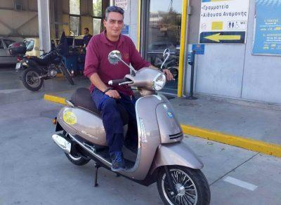 O 9ος τυχερός! Συνεχίζονται οι κληρώσεις για τα scooter 125cc