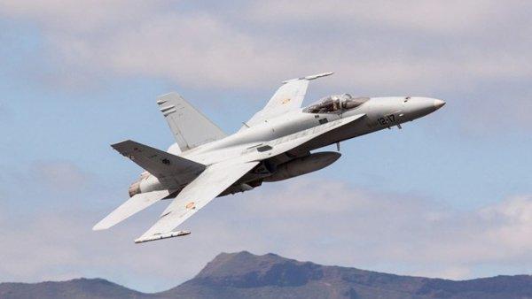 Συνετρίβη F-18 στη Μαδρίτη – Νεκρός ο πιλότος
