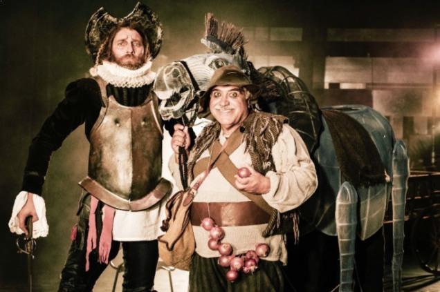 «Δον Κιχώτης»: Στο θέατρο Παλλάς το αριστούργημα του Μιγκέλ ντε Θερβάντες (trailer+photo)
