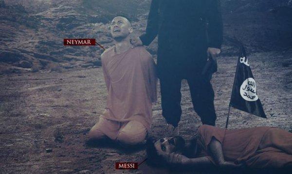 Ο ISIS απειλεί και Νεϊμάρ μετά τον… νεκρό Μέσι!
