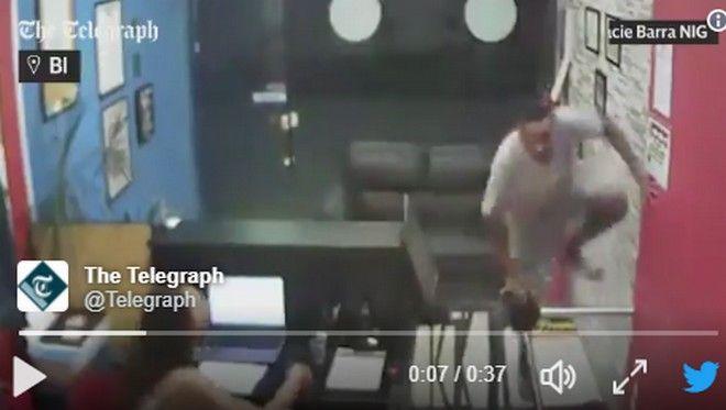 Ληστής αποφάσισε να κλέψει γυμναστήριο Ζίου Ζίτσου και το μετάνιωσε πικρά [βίντεο]